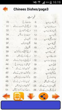 Chinese Dishes in Urdu screenshot 1