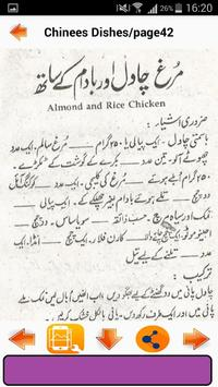 Chinese Dishes in Urdu screenshot 2