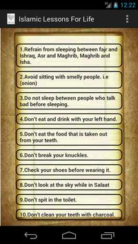 Islamic Lessons For Life poster