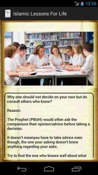 Islamic Lessons For Life apk screenshot