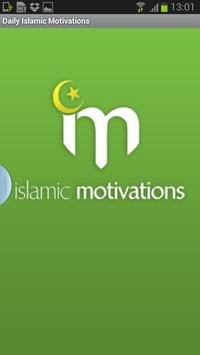 Daily Islamic Motivations poster