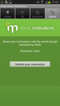 Daily Islamic Motivations apk screenshot