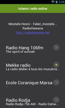 Islamic radio online poster