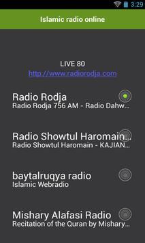 Islamic radio online screenshot 1