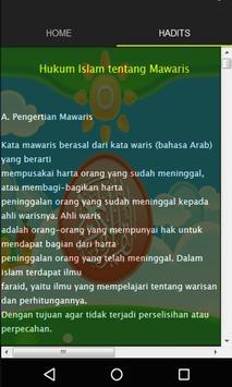 Fiqih Islam tentang Mawaris apk screenshot