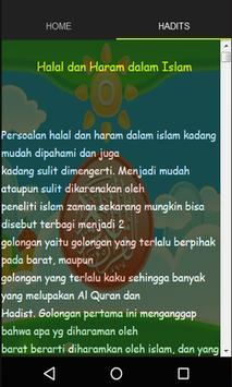 Halal Dan Haram Dalam Islam screenshot 1