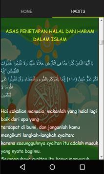 Halal Dan Haram Dalam Islam apk screenshot