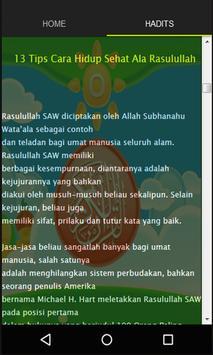 Hidup Sehat Ala Rasulullah screenshot 2