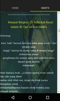 Kisah 25 Nabi dan Rosul screenshot 2