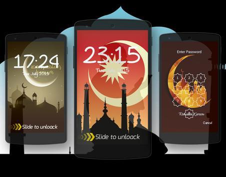 LockScreen قفل الشاشة رمضان poster