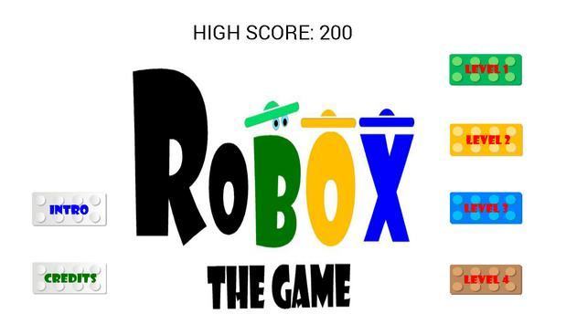 ROBOX THE GAME poster