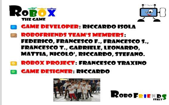 ROBOX THE GAME screenshot 4