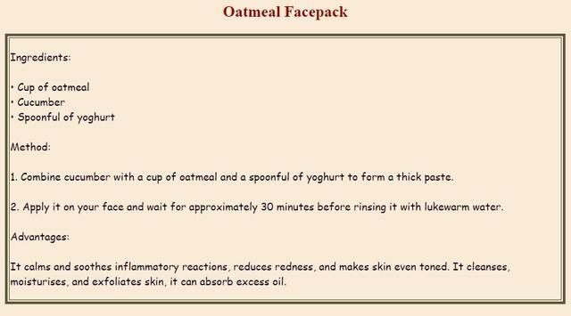 Natural Beauty Face Packs apk screenshot