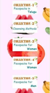 Natural Beauty Face Packs poster