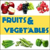 Icona Names of Fruits and Vegetables
