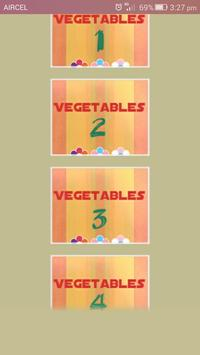 Names of Fruits and Vegetables screenshot 1