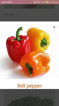 Names of Fruits and Vegetables apk screenshot