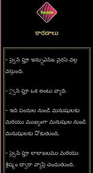 Swine-Flu Awareness in Telugu apk screenshot