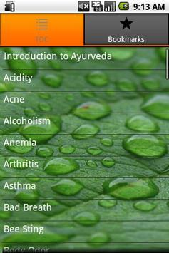 Ayurveda Remedy and Prevention poster