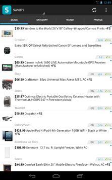Saviry - Deals,Freebies,Sales apk screenshot