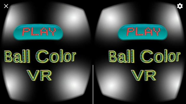 VR Ball Color poster