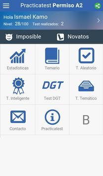 Test A2 DGT - Practicatest.com apk screenshot