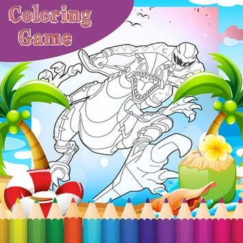 How To Color Power Ranger poster