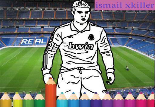 coloring football apk screenshot
