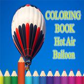 coloring Hot Air Balloon icon