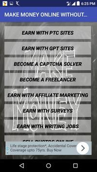 make money online guide poster