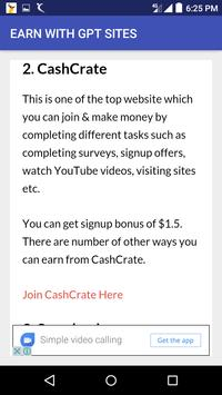 make money online guide apk screenshot