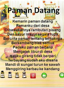 Kumpulan Lagu Anak Indonesia Lengkap Dengan Lirik screenshot 5
