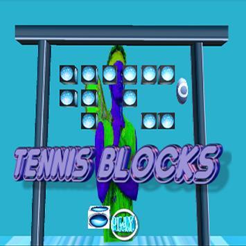Tennis Blocks poster