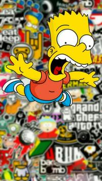 Bart Simpson Wallpaper Poster