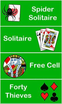 Spider Solitaire, FreeCell poster