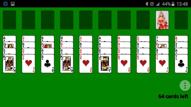 Spider Solitaire, FreeCell apk screenshot
