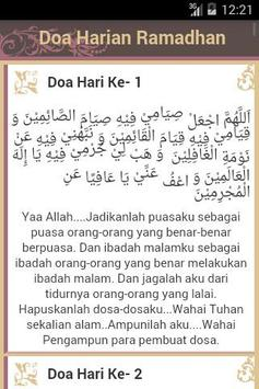 30 Doa Harian Ramadhan poster