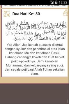 30 Doa Harian Ramadhan apk screenshot
