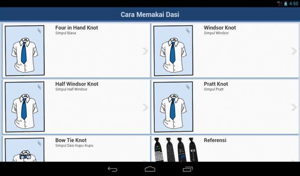 Cara Mengikat Dasi screenshot 4