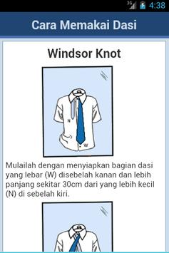 Cara Mengikat Dasi screenshot 1