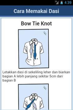 Cara Mengikat Dasi screenshot 2