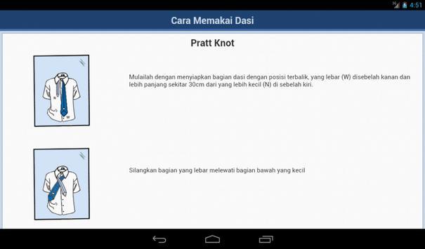Cara Mengikat Dasi screenshot 3