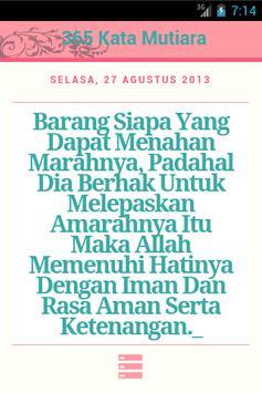 365 Kata Mutiara Bijak poster