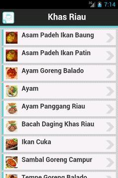 Resep Riau poster