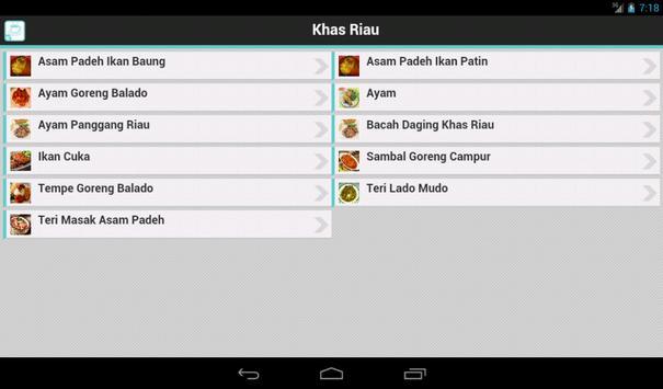 Resep Riau apk screenshot