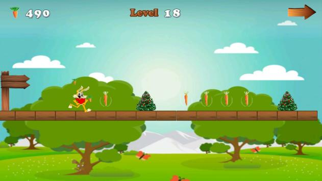 Subway Bunny Running apk screenshot