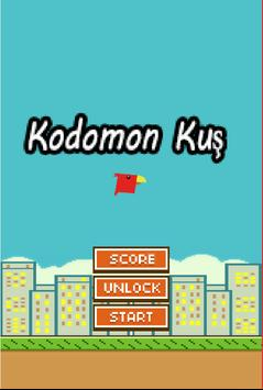 Kodomon Kuş poster