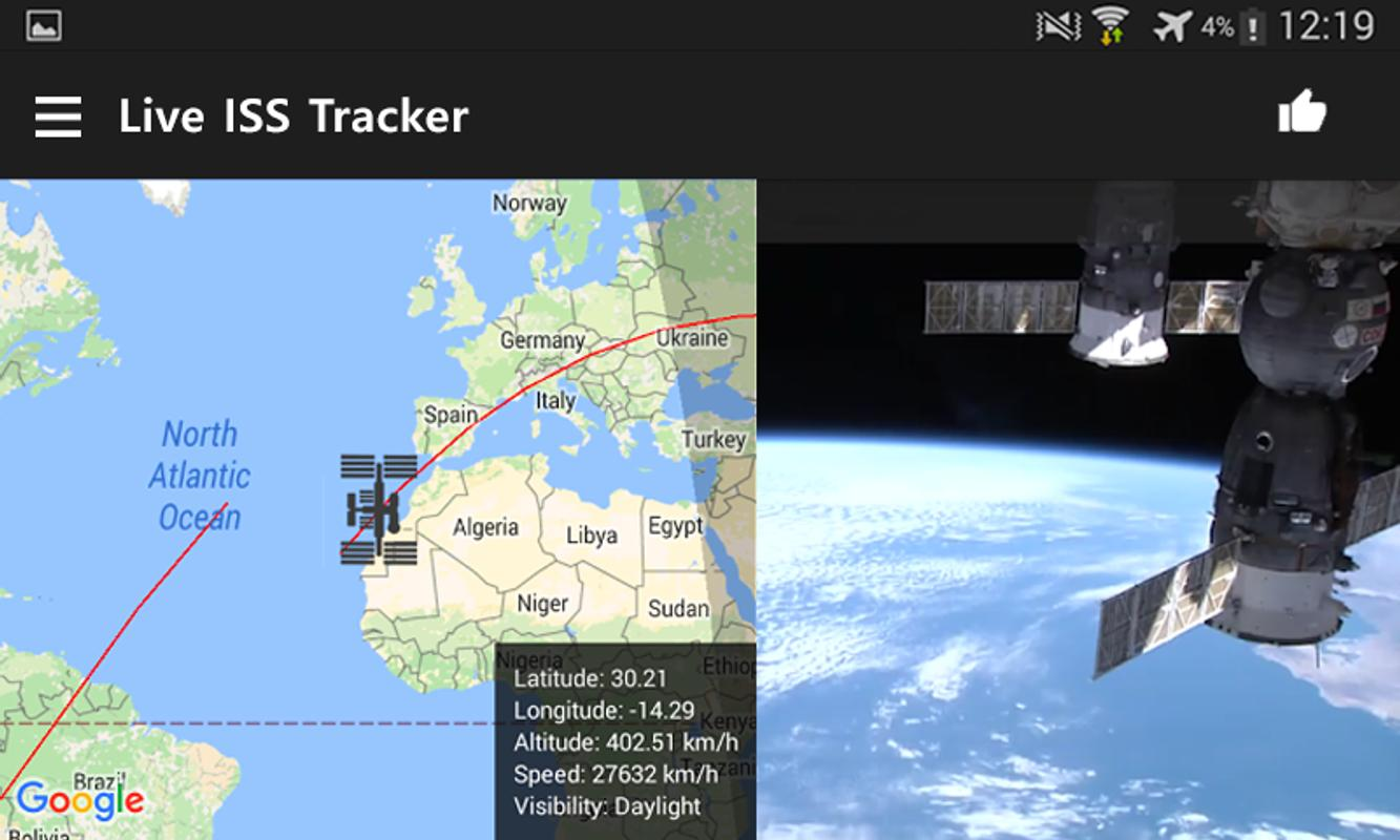international space station tracking - HD 1333×800