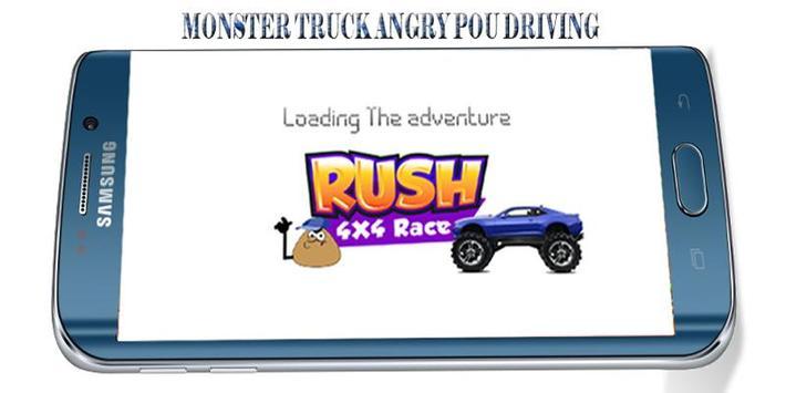 Angry POU-POU Drives Ahead poster
