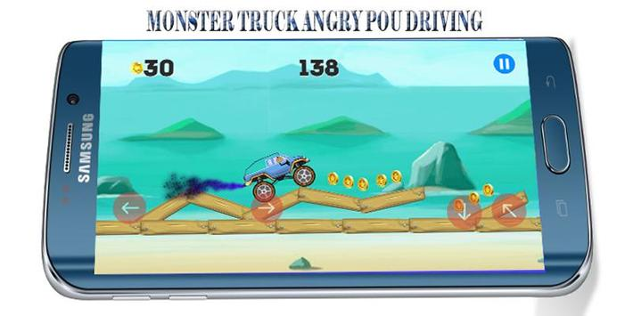 Angry POU-POU Drives Ahead screenshot 2